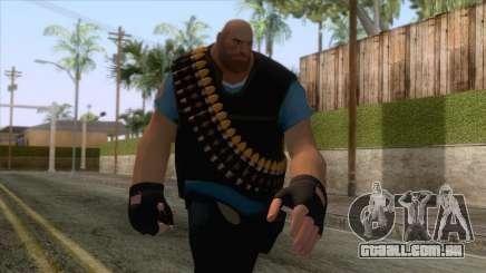 Team Fortress 2 - Heavy Skin v1 para GTA San Andreas