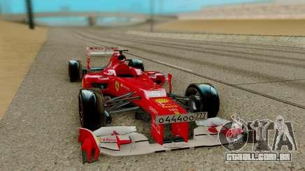 Ferrari Scuderia F2012 para GTA San Andreas