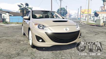 Mazdaspeed3 (BL) 2010 [replace] para GTA 5