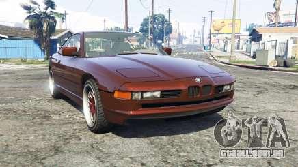 BMW 850i (E31) [replace] para GTA 5