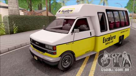 GTA V Brute Rental Shuttle Bus IVF para GTA San Andreas