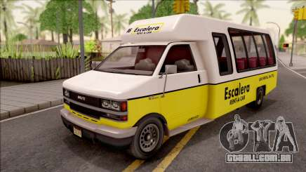 GTA V Brute Rental Shuttle Bus para GTA San Andreas