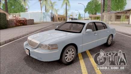 Lincoln Town Car L Signature 2010 IVF No Dirt para GTA San Andreas