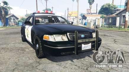 Ford Crown Victoria Highway Patrol [replace] para GTA 5