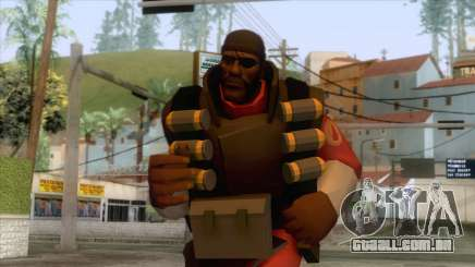Team Fortress 2 - Demo Skin v2 para GTA San Andreas