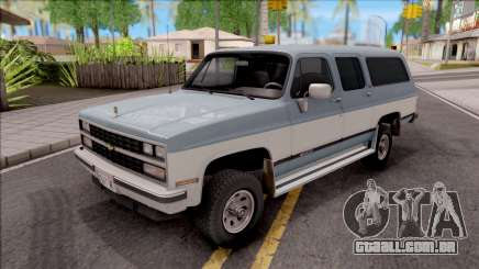 Chevrolet Suburban 1989 HQLM para GTA San Andreas