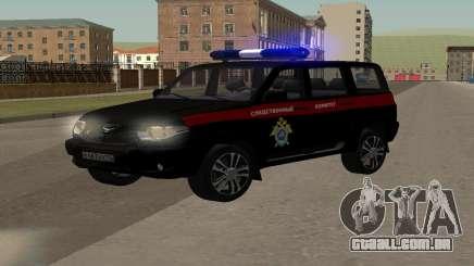 UAZ Patriota (Restyling ii) o Comitê de Investigação para GTA San Andreas