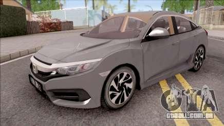 Honda Civic FC5 Low Poly with Xenon para GTA San Andreas