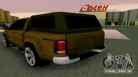 Volkswagen Amarok para GTA San Andreas