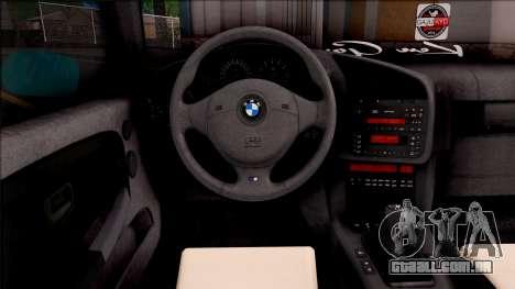 BMW 3-er E36 Blue 4.0i para GTA San Andreas