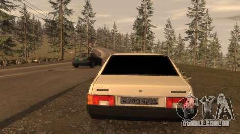 VAZ-21099 FIB para GTA 4