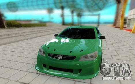 Holden Commodore para GTA San Andreas vista direita