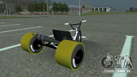 Drift Trike para GTA San Andreas esquerda vista