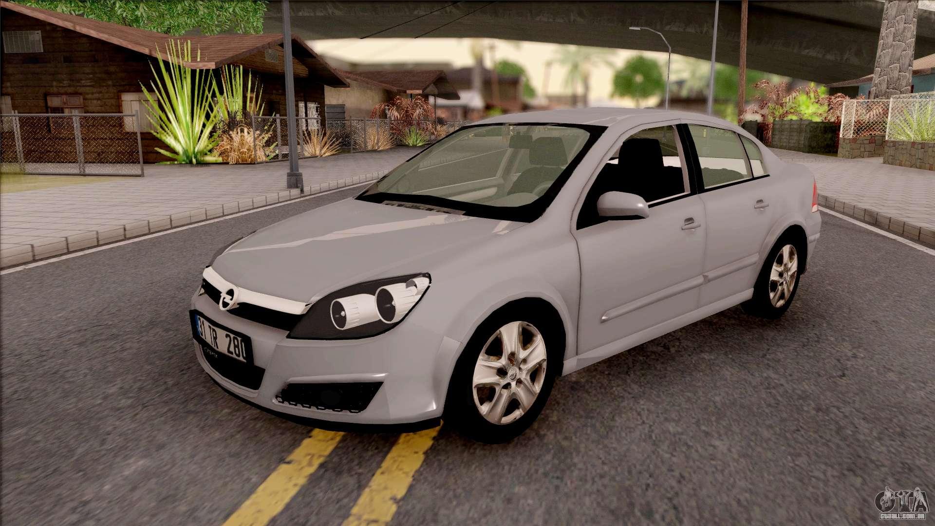 Opel Astra H Sedan Para Gta San Andreas