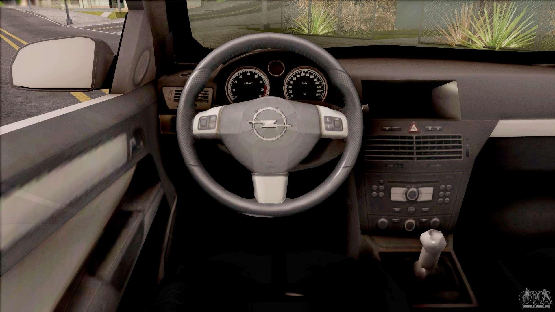Opel astra h sedan para gta san andreas for Opel astra h interieur