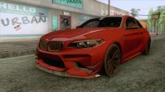 BMW M2 Coupe para GTA San Andreas