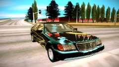 Mercedes-Benz W140 600SEL para GTA San Andreas