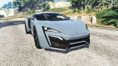 W Motors Lykan HyperSport 2014 v1.3 [replace]