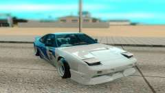 Nissan 240SX branco para GTA San Andreas