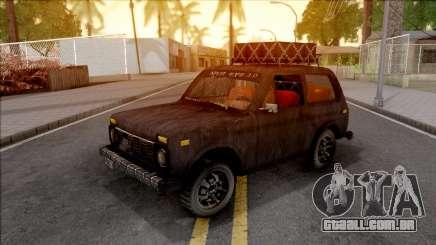 Lada Niva 1971 Black Edition 3.0 para GTA San Andreas