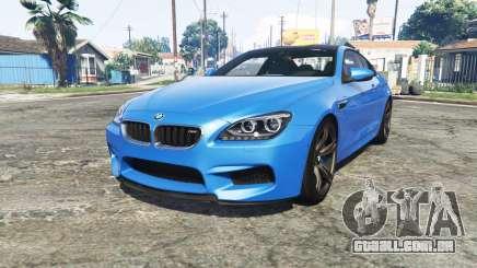 BMW M6 Coupe (F13) [add-on] para GTA 5