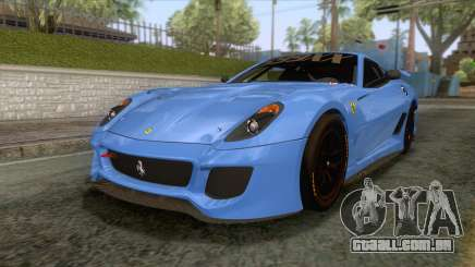 Ferrari GTO 599XX para GTA San Andreas