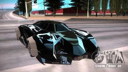 Lamborghini Egoísta чёрный para GTA San Andreas