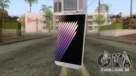 Samsung Galaxy Note 7 White para GTA San Andreas