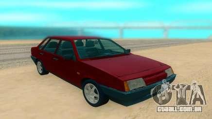 VAZ 21099 vermelho para GTA San Andreas