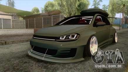 Volkswagen Golf R Pandem Rocket Bunny 2014 para GTA San Andreas
