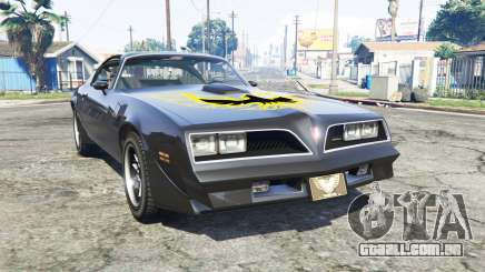 Pontiac Firebird Trans Am 1977 v3.0 [replace] para GTA 5