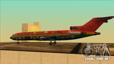 Boeing 727-200 Waifu Guerras De Edição para GTA San Andreas