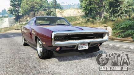 Dodge Charger RT SE (XS29) 1970 [replace] para GTA 5