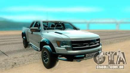 Ford F150 branco para GTA San Andreas
