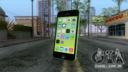 iPhone 5C Green para GTA San Andreas