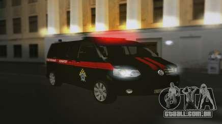 Volkswagen Transporter T5 Comitê De Investigação para GTA San Andreas