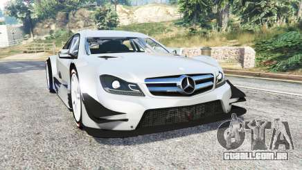 Mercedes-Benz C 63 AMG (C204) DTM v1.2 [replace] para GTA 5