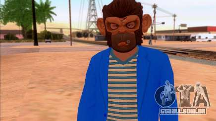 Monkey Mask para GTA San Andreas