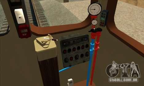 Metrostav E o tipo de Kiev Modernização para GTA San Andreas