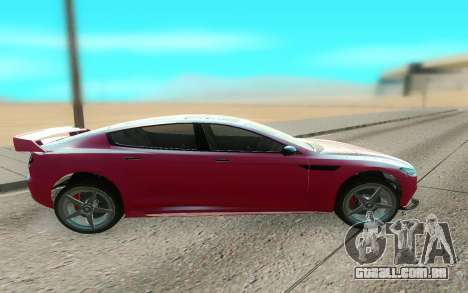GTA V Coil Raiden para GTA San Andreas esquerda vista