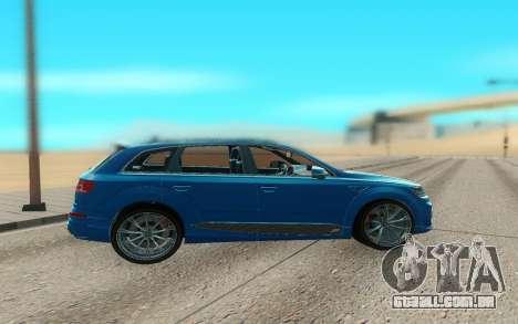Audi Q7 ABT para GTA San Andreas esquerda vista