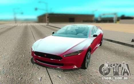 GTA V Coil Raiden para GTA San Andreas vista direita