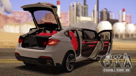 BMW X6 50D para GTA San Andreas vista direita