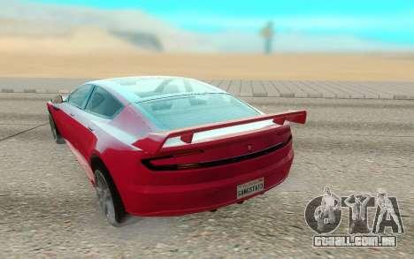 GTA V Coil Raiden para GTA San Andreas vista traseira