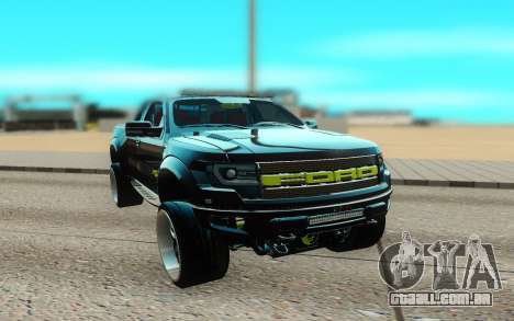 Ford 150 Raptor 2012 para GTA San Andreas