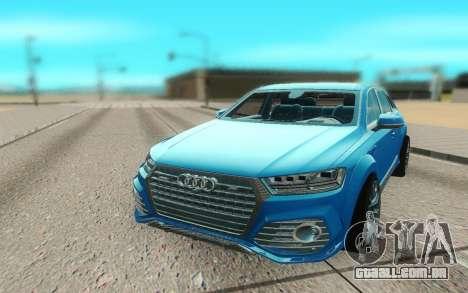 Audi Q7 ABT para GTA San Andreas vista direita