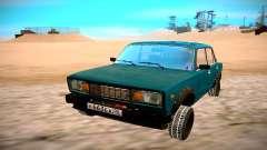 VAZ 2105 verde para GTA San Andreas