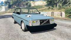 Volvo 242 Turbo v1.2 [replace] para GTA 5