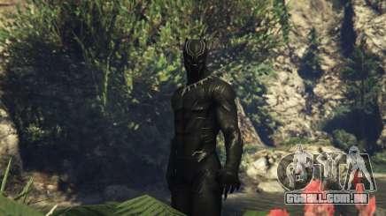 Black Panther CIVIL WAR para GTA 5