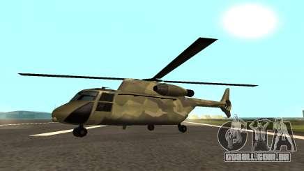 MFR Cargobob Cavaleiro da Selva Conceito para GTA San Andreas